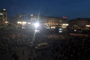 Concerto della Filarmonica in piazza Duomo
