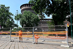 Iniziati i lavori di riqualificazione di piazza Castello