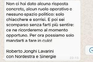 Ciocca denuncia Jonghi Lavarini